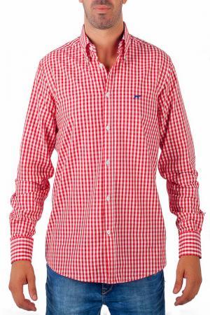 Рубашка CASTELLANISSIMOS. Цвет: красный
