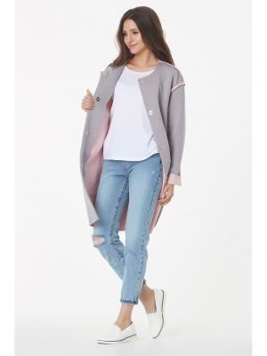 Пальто Fly. Цвет: розовый
