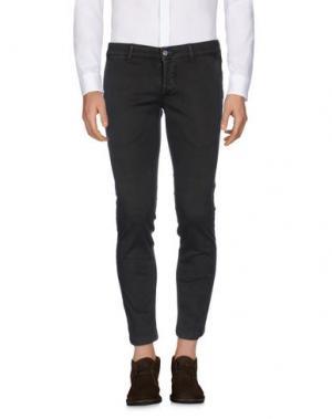 Повседневные брюки MASSIMO BRUNELLI. Цвет: темно-коричневый