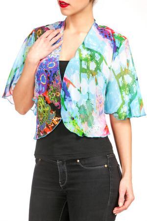 Болеро Georgede. Цвет: multicolor