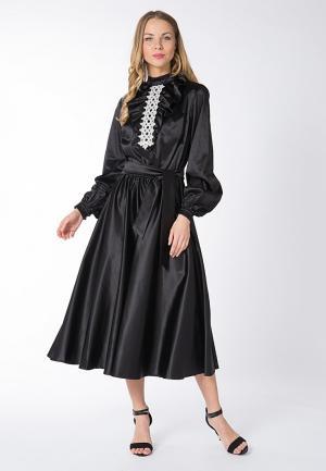 Платье Yaroslavna. Цвет: черный