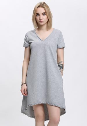 Платье Lada Kalinina. Цвет: серый