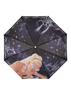 Зонт White Diamonds DAIS. Цвет: черный, белый