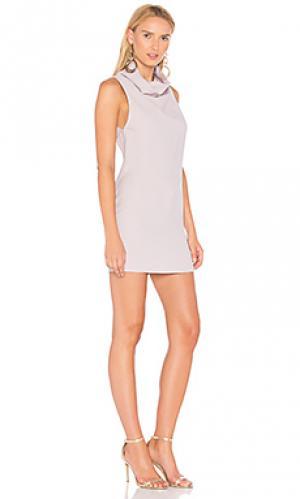 Мини платье emma AQ/AQ. Цвет: бледно-лиловый
