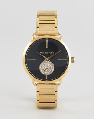 Michael Kors Золотистые наручные часы MK3788 Portia. Цвет: золотой