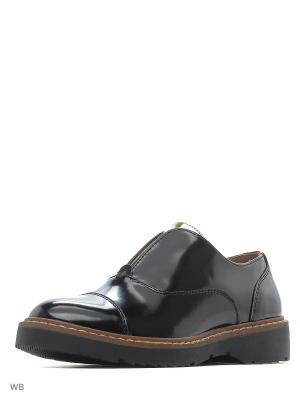 Ботинки KEDDO. Цвет: черный, золотистый