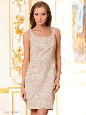 Платье Pura. Цвет: светло-бежевый