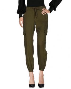 Повседневные брюки FRENCH CONNECTION. Цвет: зеленый-милитари