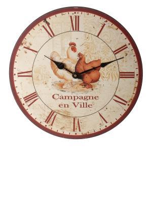 Часы настенные Ville Anticline. Цвет: кремовый