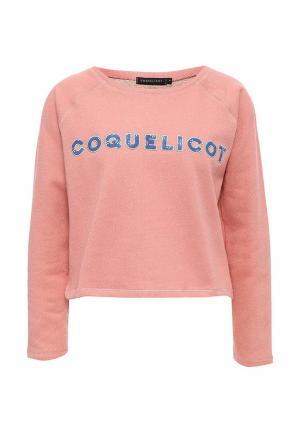 Свитшот Coquelicot. Цвет: розовый