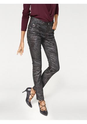 Моделирующие джинсы Push-up ASHLEY BROOKE by Heine. Цвет: бордовый