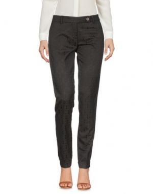Повседневные брюки VIA MASINI 80. Цвет: темно-коричневый