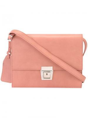 Сумка через плечо Erika Cavallini. Цвет: розовый и фиолетовый