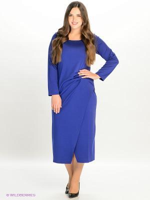 Платье МадаМ Т. Цвет: синий