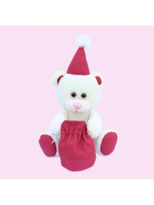 Мягкая игрушка Медведь Зефирка, Malvina. Цвет: белый
