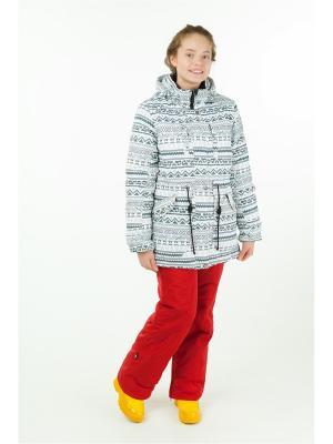 Комплект batik. Цвет: белый, бордовый