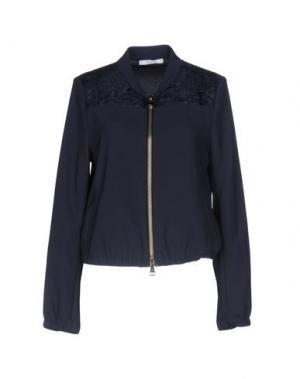 Куртка SFIZIO. Цвет: темно-синий