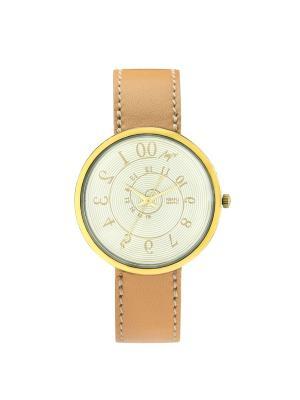 Часы наручные ЛУЧ.. Цвет: бежевый