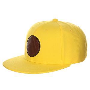 Бейсболка с прямым козырьком  04 Yellow Skills. Цвет: желтый
