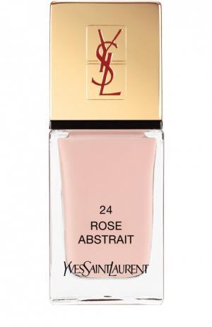 La Laque Couture Лак для ногтей 24 YSL. Цвет: бесцветный