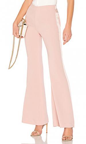 Расклешенные брюки alyssum Cinq a Sept. Цвет: розовый