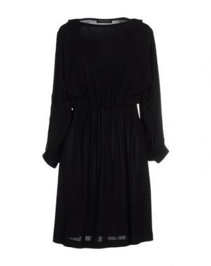 Короткое платье SOPHIA KOKOSALAKI. Цвет: черный