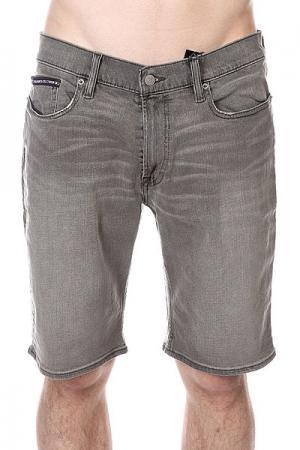 Шорты джинсовые DC Straight Grey Stone Shoes. Цвет: серый