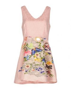 Короткое платье GIORGIA & JOHNS. Цвет: розовый