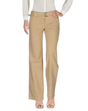 Повседневные брюки MURPHY & NYE. Цвет: песочный