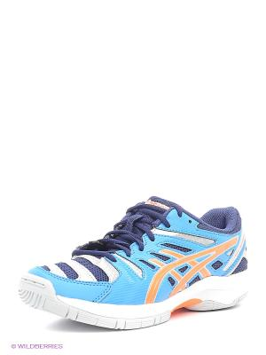 Кроссовки GEL-BEYOND 4 GS ASICS. Цвет: синий, оранжевый, темно-синий