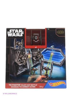 Игровой набор для звездолётов серии Звездные войны Hot Wheels. Цвет: черный