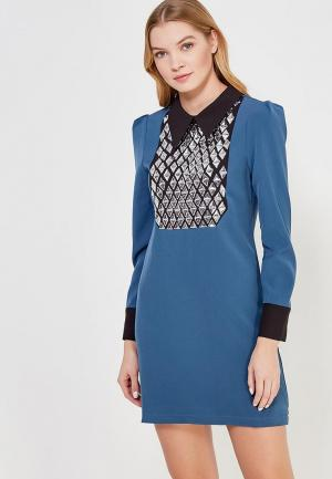 Платье Sister Jane. Цвет: синий