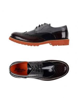 Обувь на шнурках GABARDINE. Цвет: красно-коричневый