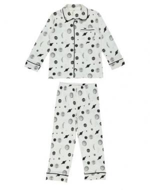 Пижама POPUPSHOP. Цвет: белый