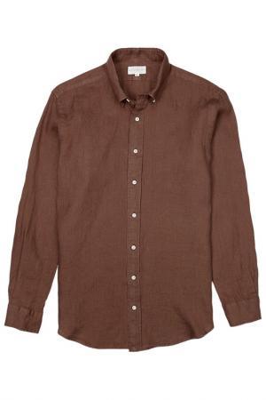 Рубашка BLUEMINT. Цвет: коричневый