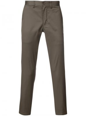 Классические брюки чинос 321. Цвет: коричневый