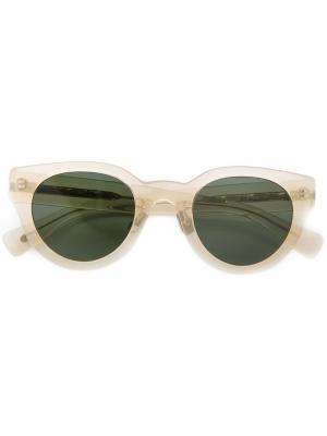 Cat eye sunglasses Eyevan7285. Цвет: жёлтый и оранжевый