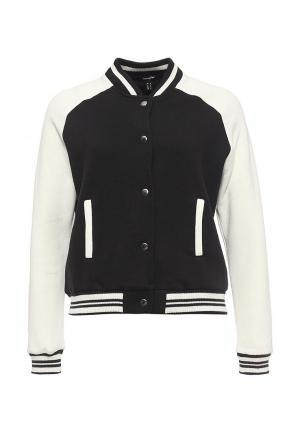 Куртка Jennyfer. Цвет: черно-белый