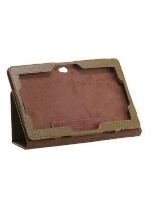 Обложка skinBOX standard для планшета Asus VivoTab Smart ME400C. Выполнена из качественной экокожи.. Цвет: коричневый