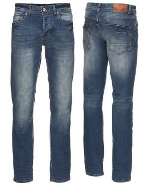 Джинсы Gnious. Цвет: джинсовый