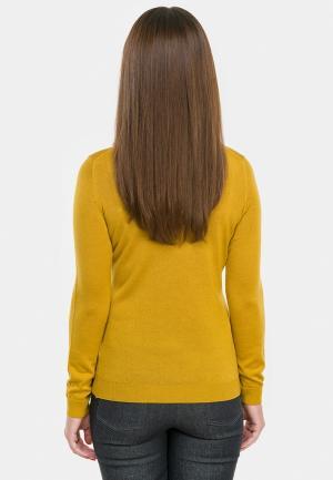 Водолазка Vera Moni. Цвет: желтый