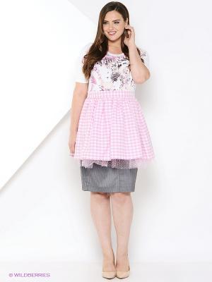 Фартук Milana Style. Цвет: розовый