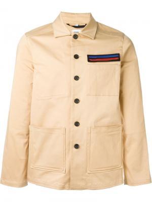 Куртка в стиле милитари Opening Ceremony. Цвет: телесный