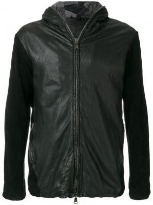 Байкерская куртка на молнии Giorgio Brato. Цвет: чёрный