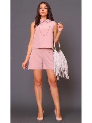 Блузка MARI VERA. Цвет: розовый