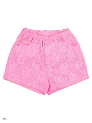 Шорты Liguo. Цвет: розовый