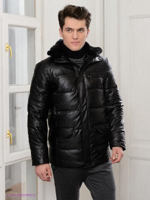 Куртка GroStyle. Цвет: черный