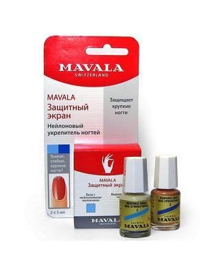 Защитный экран для ногтей Nail Shield 2 x 5ml(на блистере) Mavala. Цвет: прозрачный