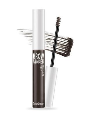 Тушь для бровей BROW MAKER (холодный -коричневый), т. 11 Belor Design. Цвет: темно-коричневый, коричневый