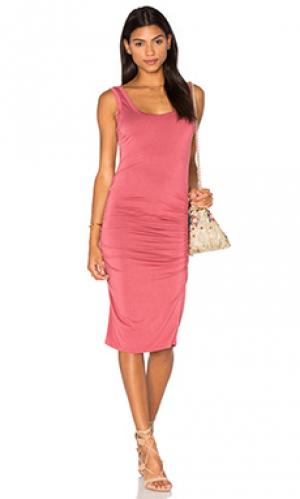 Платье frankie LA Made. Цвет: rose